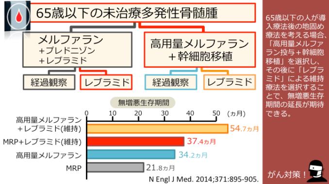 【多発性骨髄腫:一次治療】「高用量メルファラン投与+幹 ...